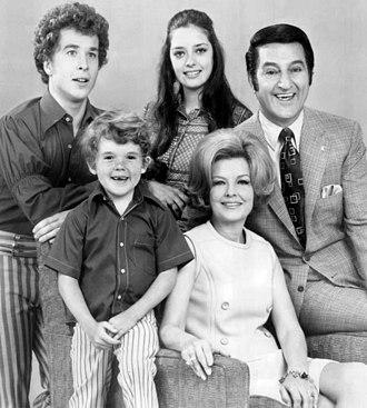 Rusty Hamer - Hamer (top left) in 1970 with co-stars in Make Room for Granddaddy.