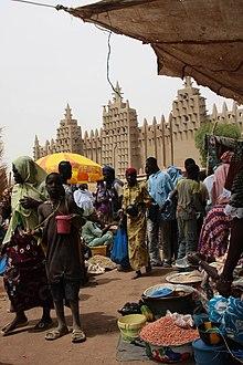Mercato a Djenné (Mali)