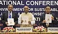 """Mallikarjun Kharge releasing the """"National Safety Chronicle"""", at the inauguration of the 12th NSCI National Conference on Safety, Health & Environment for sustainable Growth Challenges & Response, in New Delhi.jpg"""