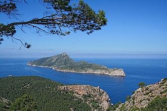 Dragonera - View of Sa Dragonera from nearby Majorca.