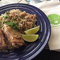 Managed not to mess up Crispy Chicken Biryani left over from my -hellofreshparty @hellofresh (21907558693).jpg