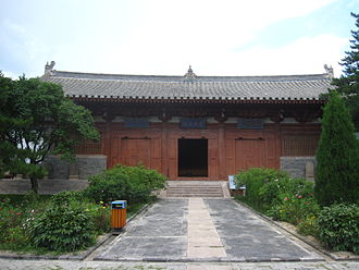 Foguang Temple - Manjusri Hall, built in 1137