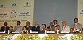Manmohan Singh at the tenth Pravasi Bharatiya divas 2012, at Jaipur, in Rajasthan. The Prime Minister of the Republic of Trinidad and Tobago, Mrs. Kamla Persad-Bissessar, the Governor of Rajasthan, Shri Shivraj Patil.jpg