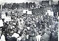 Manofestacii po donesuvanje na prviot Ustav, 1945.jpg