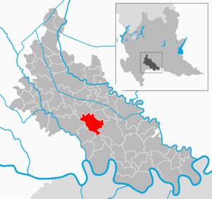 Brembio - Image: Map IT Lodi Brembio