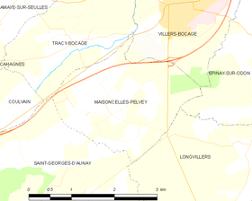 Map commune FR insee code 14389.png