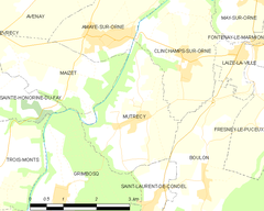 Map commune FR insee code 14461.png