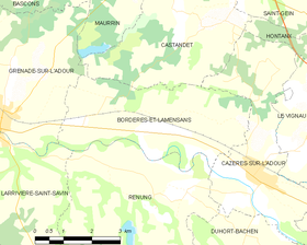 Map commune FR insee code 40049.png