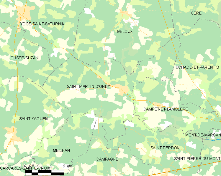 Archivo:Map commune FR insee code 40274.png