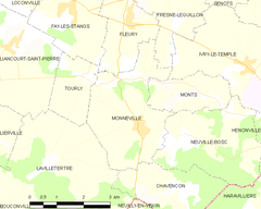 Map commune FR insee code 60411.png