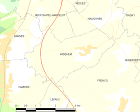 Map commune FR insee code 62887.png