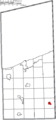 Map of Ashtabula County Ohio Highlighting Andover Village.png