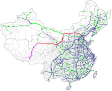 Map of China NTHS Expressway G6.png
