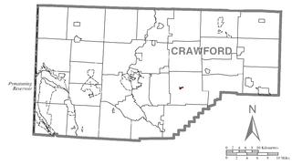 Guys Mills, Pennsylvania Census-designated place in Pennsylvania, United States