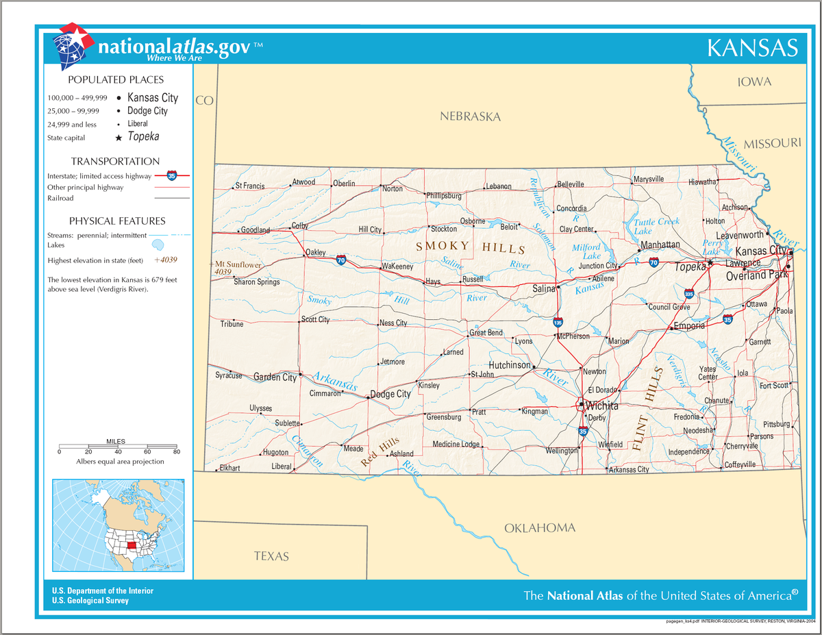 Kansas City Map Map Of Kansas City Missouri Kansas In Usa Map - Map of kansas