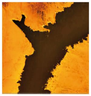 Wadi Halfa Salient - NASA World Wind Image