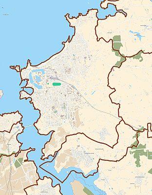 TemplateLocation map France SaintMalo Wikipedia