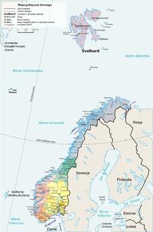 Regiony Norwegii Wikipedia Wolna Encyklopedia