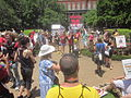 March Against Monsanto end at Jackson Square New Orleans Crimes Against Humanity.JPG