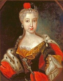 Countess Palatine Maria Franziska of Sulzbach German countess
