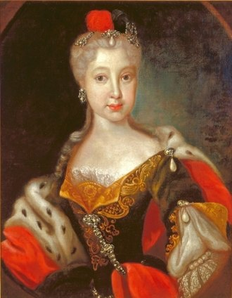 Countess Palatine Maria Franziska of Sulzbach - Image: Maria Franziska of the Palatinate Sulzabch, countess of Zweibrücken Birkenfeld
