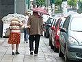 Maria i Bogdan Kalinowscy on street.jpg