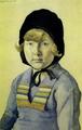 Marian Ruzamski - Dziewczynka w kapturku (Alusia Pawlasówna).png