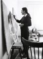 Marianne Van Vyve in her Antwerp studio, 1970s.tif