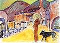 Marianne von Werefkin - Saint Francis and a Wolf.jpg