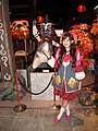 Marie Soda's cosplay of Monster Hunter at Tokyo Game Show 20100917b.jpg