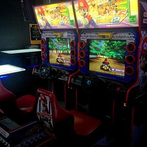 Mario Kart Arcade GP - Image: Mario kart arcade gp 2