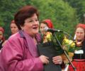 Marioara Murărescu la Festivalul Național Sâmbra Oilor - Țara Oașului 2006.png