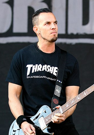 Mark Tremonti - Tremonti playing with Alter Bridge at the 2014 Rock im Park