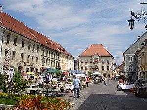Sankt Veit an der Glan - Image: Marktszene sant veit