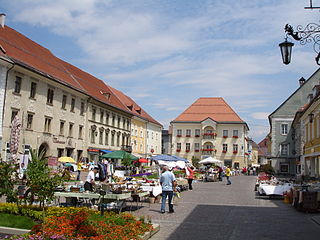 Sankt Veit an der Glan Place in Carinthia, Austria