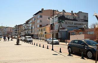 Marmara Ereğlisi - Promenade in Marmara Ereğlisi.