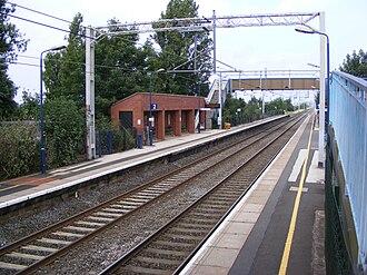 Marston Green railway station - Image: Marston Green railway station