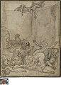 Martelaren voor de leeuwen geworpen, 1580 - 1590, Groeningemuseum, 0041342000.jpg
