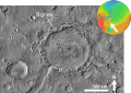 Martian impact crater Bigbee based on day THEMIS.png