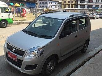 Maruti Suzuki - Image: Maruti Wagon R Front