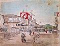 Maruyama Ōkyo. c. 1759. Kabuki Theatre at the Sijō Street.jpg