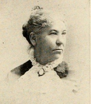 Sallie Fox - Sallie Fox's mother Mary in her later years. She died in 1899 at the age of 75.
