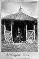 Mary Scharlieb, Elstree, in summer house. Wellcome L0025156.jpg