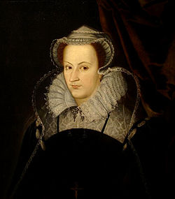 Mary Stuart, Queen of Scotland, claim to England, Ireland and France.JPG