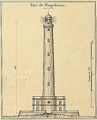 Maspalomas Lighthouse LineArt 1895 Gran Canaria.jpg