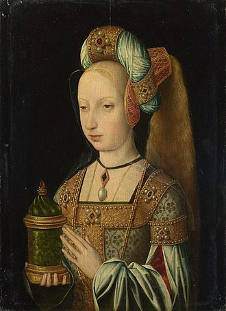 "Master of the Legend of the Magdalen - Master of the Magdalen Legend - ""The Magdalen"" 1510-20"