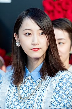 "Matsui Rena from ""21st Century Girl"" at Opening Ceremony of the Tokyo International Film Festival 2018 (45568133282).jpg"