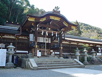 Karahafu - Image: Matsunoo Shrine