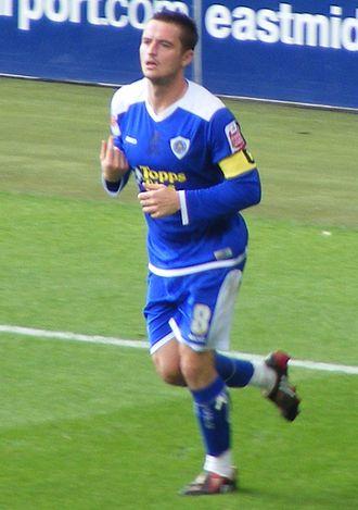 Matt Oakley - Oakley playing for Leicester City in September 2008.