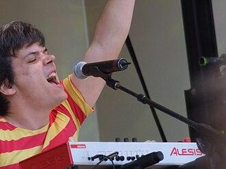 De Novo Dahl - Keyboardist Matthew Hungate at Lollapalooza 2008